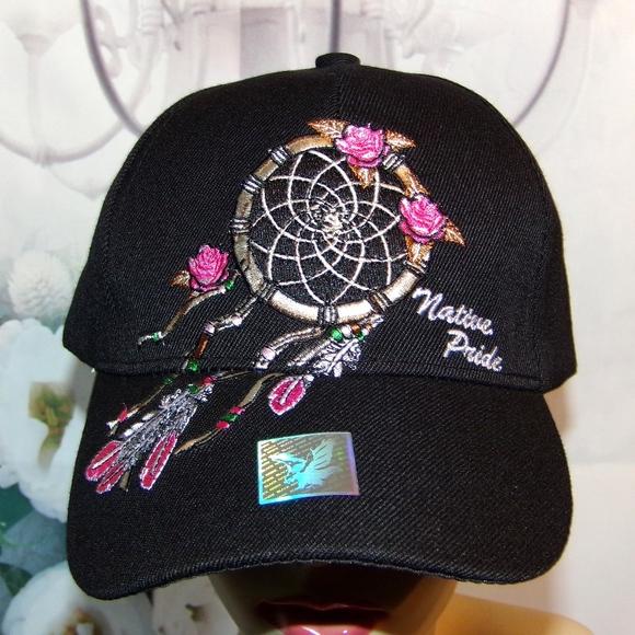 Dream Catcher Hat Embroidered Native Pride NWT 063ff06afc1